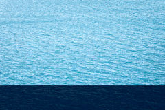 Shining Water sea surface. Abstract texture background Stock Photo