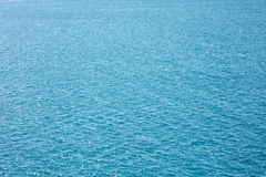 Shining Water sea surface. Abstract texture background. Stock Photo
