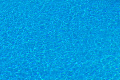 Shining water in the swimming pool Royalty Free Stock Photo