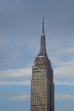 Shining windows of Empire State Building as they are illuminated Royalty Free Stock Photos