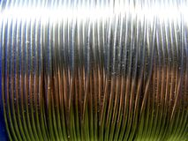 Shining wire Stock Photography