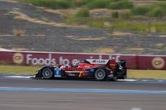 Shinji Nakano Biegowy Perfermance w azjata Le Mans seriach - rasa Fotografia Royalty Free