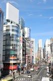 shinjuku东京 免版税库存图片