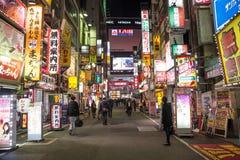 shinjuku东京 免版税库存照片