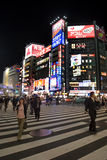 shinjuku东京 库存图片