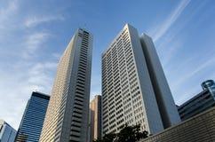 Shinjuku摩天大楼,东京 免版税库存照片