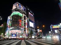 Shinjuku одно большинств толпить людей в токио Стоковое Фото