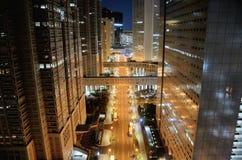 Shinjuku alla notte. Fotografia Stock