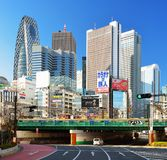 Shinjuku Cityscape Royalty Free Stock Photo