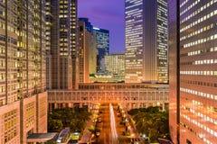 Shinjuku Cityscape Royalty Free Stock Photo