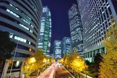Shinjuku Financial District Stock Photos