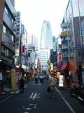 Shinjuku gatashopping Fotografering för Bildbyråer