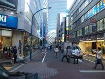Shinjuku gatashopping Royaltyfri Foto
