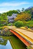 Shinjuku Gyoen medborgareträdgård royaltyfri bild