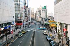 Shinjuku i Tokyo (Japan) Fotografering för Bildbyråer