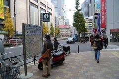 Shinjuku Japan Stock Image