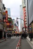 Shinjuku Japan Royalty Free Stock Photography