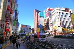 Shinjuku Japonia Obrazy Royalty Free