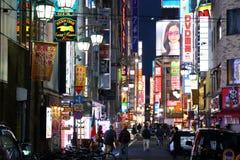 Shinjuku night Stock Photography
