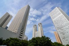 Shinjuku office buildings Royalty Free Stock Image