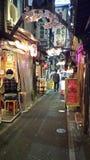 Shinjuku Omoide Yokocho - токио, Япония Стоковые Изображения RF
