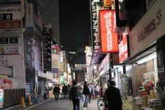 Shinjuku's Kabuki central road in tokyo , Japan. The Shinjuku's Kabuki central road in tokyo , Japan Stock Image