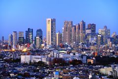 Shinjuku Skyline Stock Photo