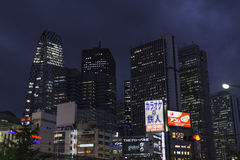 Shinjuku skyscrapers Royalty Free Stock Photography