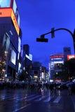 Shinjuku night scene, Tokyo Stock Photography