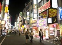 Shinjuku, Tokyo Foto de Stock Royalty Free