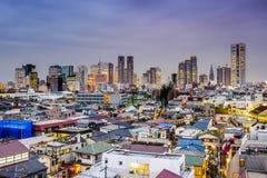 Shinjuku Tokyo Cityscape Stock Photos