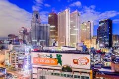 Shinjuku Tokyo cityscape Stock Image