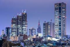 Shinjuku, Tokyo, Japan Cityscape Stock Photography