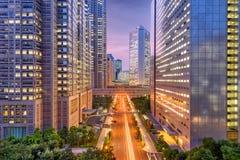 Shinjuku, Tokyo, Japan Cityscape Royalty Free Stock Images