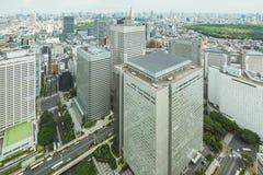 Shinjuku, Tokyo, Japan financial district cityscape. Royalty Free Stock Photography