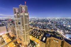 Shinjuku, Tokyo, Japan Office Buildings Stock Photo