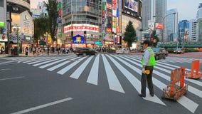 SHINJUKU TOKYO JAPAN-SEPTEMBER 11 : shinjuku important landmark and shopping area in heart of tokyo on september 11, 2015 in Tokyo. Japan stock video