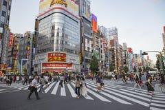 SHINJUKU TOKYO JAPAN-SEPTEMBER 11: viktig gränsmärke för shinjuku Royaltyfri Fotografi
