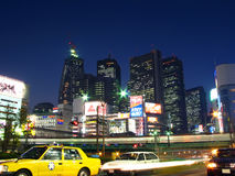Shinjuku, Tokyo, Japão Imagens de Stock Royalty Free