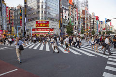 SHINJUKU TOKYO JAPON 11 SEPTEMBRE : point de repère important de shinjuku Photographie stock