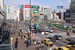 Shinjuku Royalty Free Stock Photos