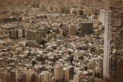 Shinjuku widok z lotu ptaka Zdjęcia Stock