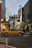 Shinjukulichten royalty-vrije stock afbeelding
