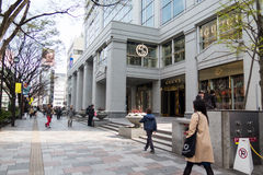 Shinjukuwinkelcentrum Royalty-vrije Stock Fotografie