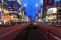 Shinjyku, Tóquio, Japão Fotos de Stock Royalty Free