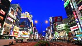 Shinjyuku, токио, Япония сток-видео