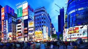 Shinjyuku,Tokyo,Japan. Tokyo,Japan - May 5:time-lapse shot of Kabukicho in Tokyo on May 5, 2014. Kabukicho is one of the most famous nightlife district in Tokyo