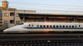 Shinkansen东京日本 免版税库存照片
