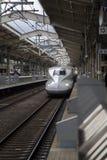 Shinkansen速度火车 免版税库存照片