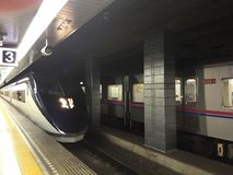 Shinkansen,日本 免版税图库摄影